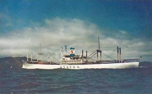 States Steamship Company's Swift White Cargoliner, States, 1940-1960s
