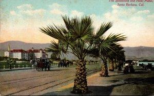 California Santa Barbara The Boulevard and Hotel Potter