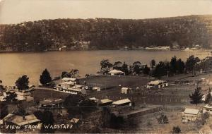 Wagstaff Scenic View Real Photo Antique Postcard (J37303)