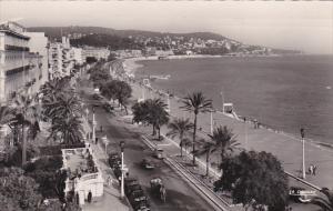 France Nice La promenade des Anglais 1955 Photo