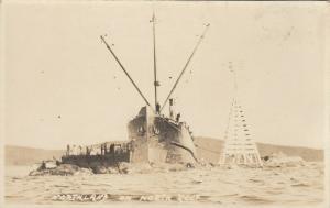 RP: Shipwreck of NORTHLAND , Porter Reef , Bella Bella , BC ,2-13-1947