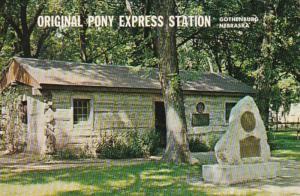 Nebraska Gothenburg City Park Original Pony Express Station