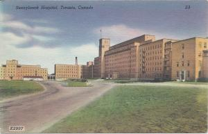 Sunnybrook Hospital, Toronto, Canada, Postcard, Unused