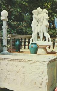WR Hearst Estate San Simeon CA California Unused Vintage Postcard D26