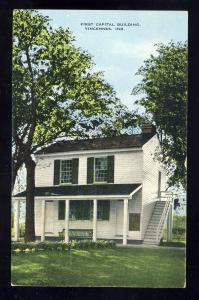 Vincennes, Indiana/IN Postcard, First Capital Building, 1967!
