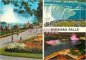 Postcard Modern Niagara Falls