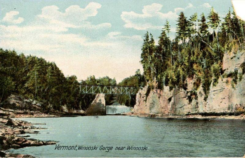 VT - Winooski Gorge. Bridge