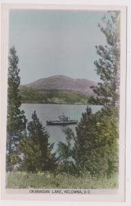 RP: Okanagan Lake , KELOWNA , B.C. , Canada , 1930-50s