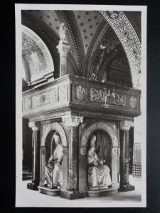 Switzerland: Pulpito at Cathedrale S. Lorenzo in Lugano - Old Frinzl RP Postcard