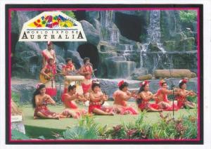 Tongan Group , Pacific Lagoon, World Expo 1988, Brisbane , Australia