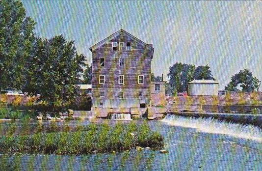 Old Stockdale Water Power Mill Wabash County Indiana