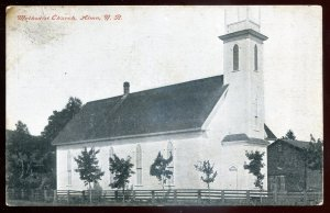 dc1245 - ALMA New Brunswick Postcard 1912 Methodist Church by Ayer
