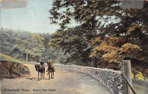 Massachusetts  Greenfield, Bear's Den Road,