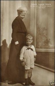 German Emperess Auguste Victoria Prince Karl of Prussia