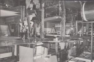 Section Weaving Warping Sible Hedingham Mill Halstead Handloom Weavers Postcard