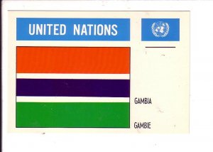 Gambia Flag, United Nations
