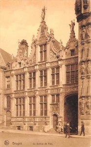 La Justice de Palx Bruges Belgium Unused