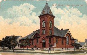 F82/ Valley City North Dakota Postcard 1916 M.E. Church Building