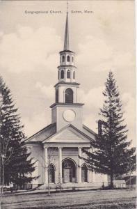 Street view showing Congregational Church, Sutton, Massachusetts,00-10s
