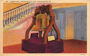 Liberty Bell, Independence Hall  Philadelphia, Pennsylvania PA