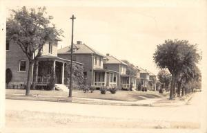 Houston Texas Fort Sam Officer Quarters Real Photo Antique Postcard K76940