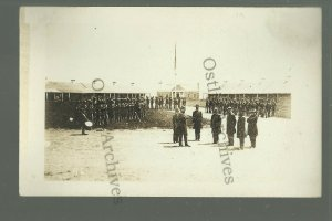 MINNESOTA St. Paul 1911 FORT SNELLING Soldiers CHANGING GUARD 1863 BROMLEY 46