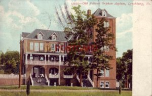 pre-1907 ODD FELLOWS ORPHAN ASYLUM, LYNCHBURG, VA. 1909