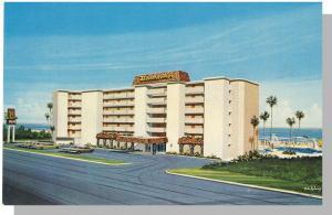 Classic Daytona Beach, Florida/FL Postcard, Beachcomer Inn