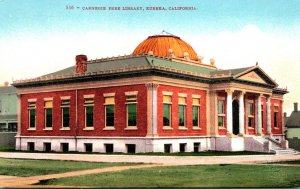 California Eureka Carnegie Free Library