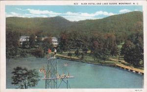 Alba Hotel & Lake Susan , MONTREAT , North Carolina , 1910s