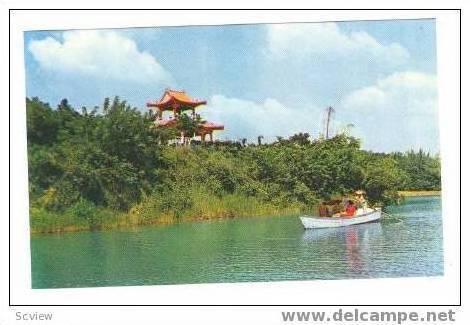 Deeng-Tsing Lake, Foun-Youan Pavillion, taiwan, 50-60s