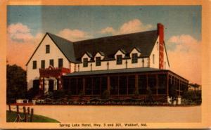 Maryland Waldorf Spring Lake Hotel Dexter Press