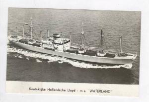 Koninklijke Hollandsche Lloyd - m.s.  WATERLAND , 1957