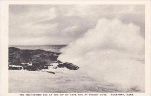 Massachusetts Rockford Thundering Sea At Cape Ann Albertype