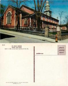 St. Paul's Church in Halifax, Nova Scotia, Canada, Pre-zip code Chrome