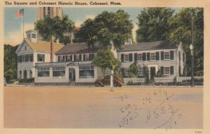 COHASSET, Massachusetts, 1946; The Square and Cohasset Historic House