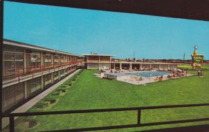 Holiday Inn of CHICAGO - South, Swimming Pool, LANSING, Illinois, PU-1973