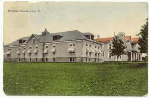 Hospital, Chambersburg , Pennsylvania , PU-1908