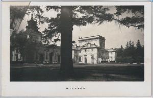 POLAND -  Vintage Postcard archiwalne pocztówki - WARSAW Wilanów