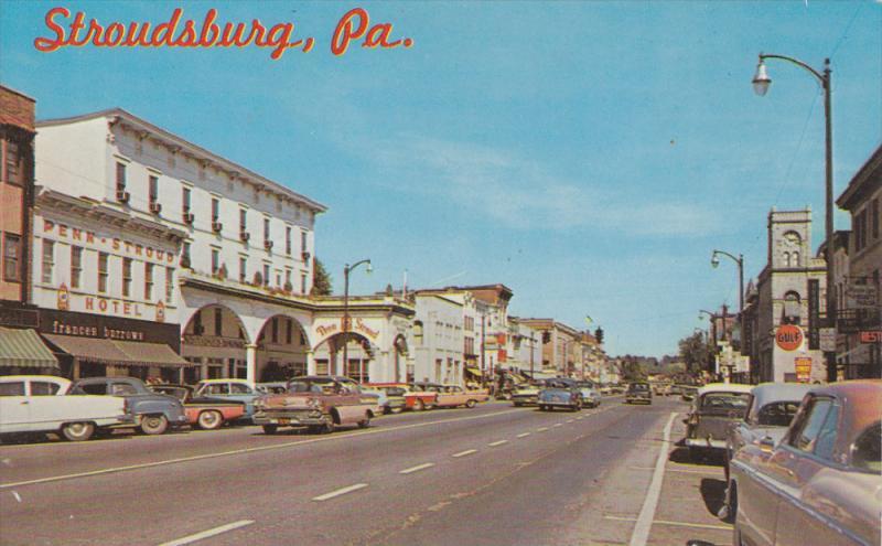 Stroudsburg Pennsylvania 1950 1960 S Penn Stroud Hotel Frances