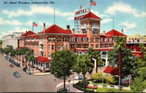 Florida Jacksonville Hotel Windsor Curteich