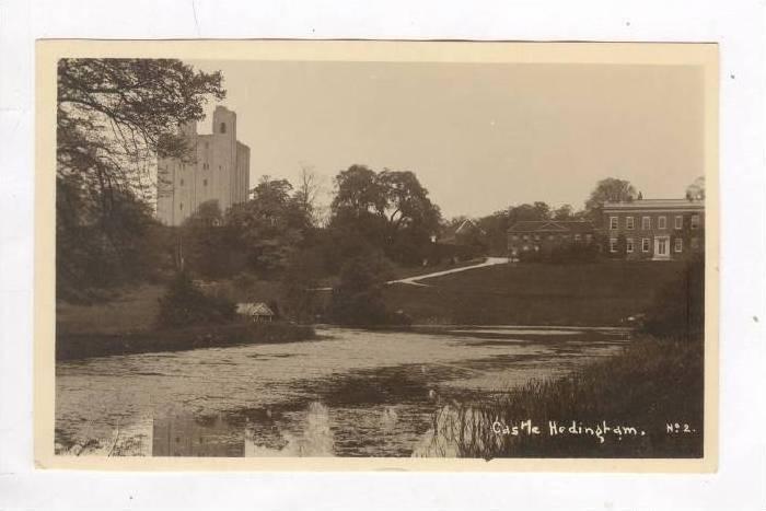 RP, Hedingham Castle in Essex, England, UK, 1920-40s