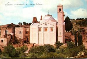 Israel Jerusalem The Church Of St Lazarus Bethany
