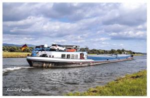 Postcard Inland Watercraft Bentley, Main-Danube Canal, Nr Bamberg, Germany 63D
