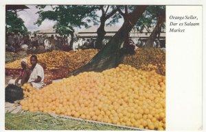 Tanzania; Orange Seller, Dar Es Salaam Market, No 2 PPC, Unused, c 1950's