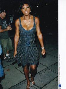 Serena Williams 2007 Mercedes Benz Fashion Zac Posen Show Tennis Press Photo