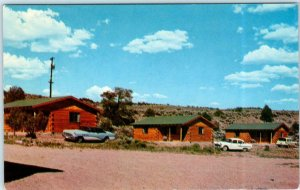 TIERRA AMARILLA, New Mexico NM   Trout Fishing EL VADO RANCH ca 1960s  Postcard