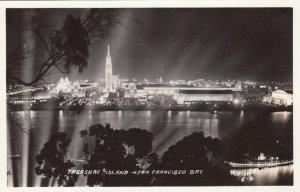 RP: SAN FRANCISCO , California, 30-40s ; Treasure Island at Night