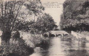 CHATILLON SUR SEINE, Cote D'or, France, 1900-1910's; Les Grandes Grilles
