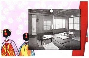Nippon Japan  Kyoto    Mishimatei Restaurant Interior Dinning Room